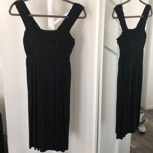 Max studio knit black dress size XS
